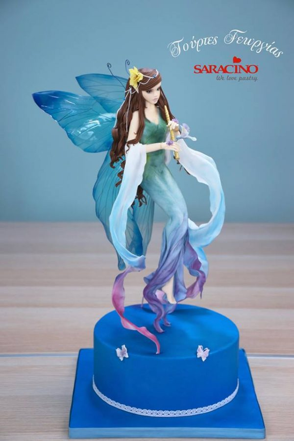 foating fairy figure class with georgia ampelakiotou at the london cake academy