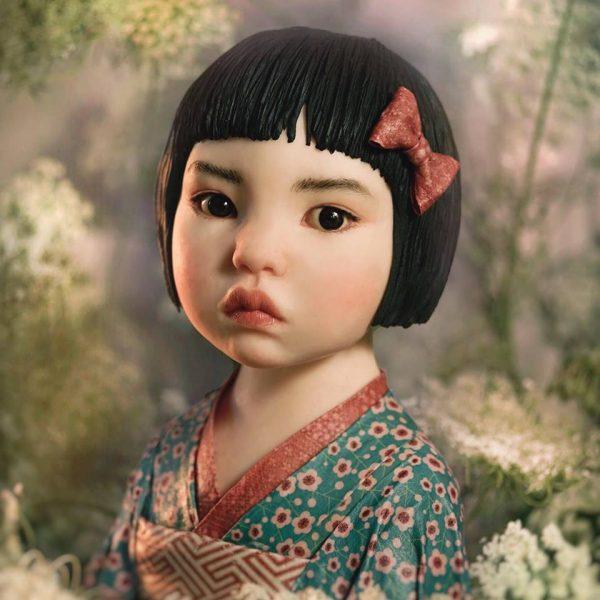Hana japanese figure bust class with Marta Hidalgo