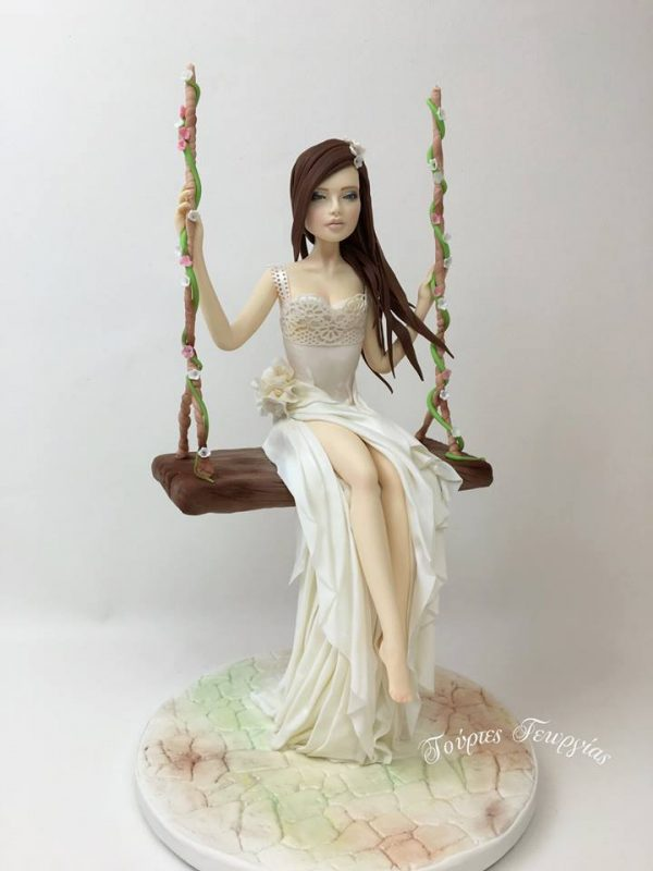 the bride figure class with georgia ampelakiotou at the london cake academy