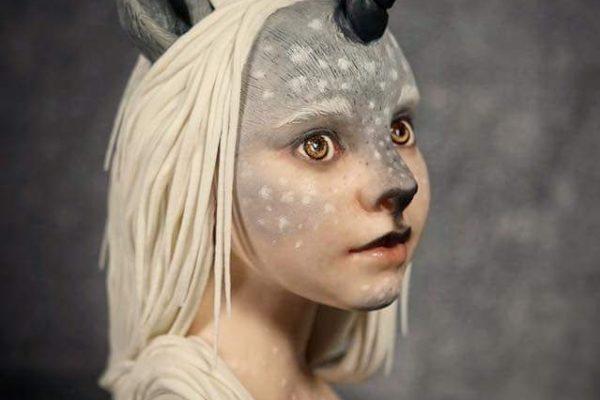 unicorn elf bust class with marta hidalgo at the london cake academy