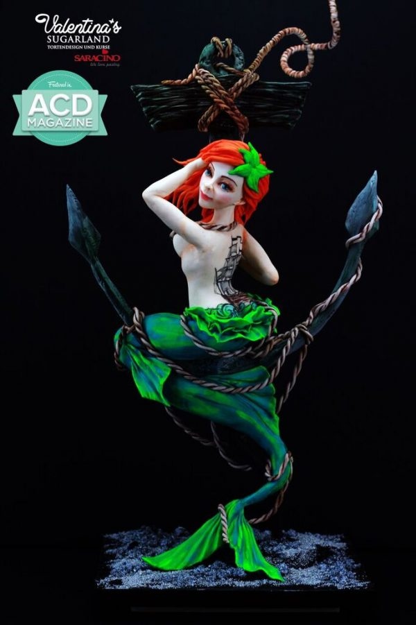 valentina terzievas mermaid masterclass for the london cake academy
