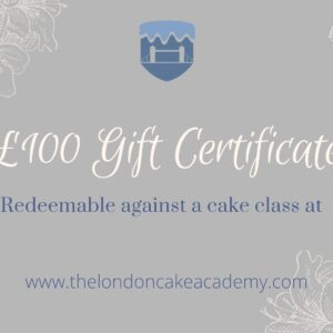£100 Gift certificate image