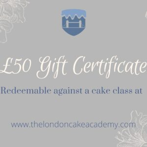 £50 gift certificate image